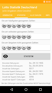 Lotto Statistik Deutschland- screenshot thumbnail