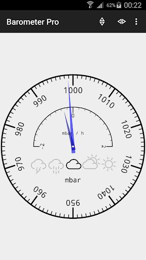 Barometer and altimeter Pro