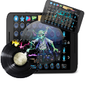Techno Music Loops Dj Pad icon