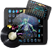 Techno Music Beat Maker Icon