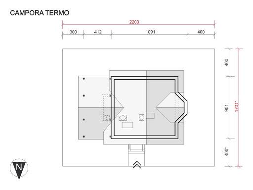 Campora Termo - Sytuacja