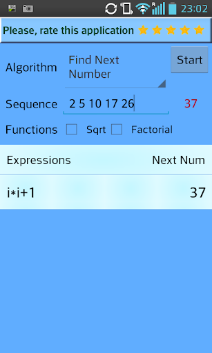 Expression Sequence Finder