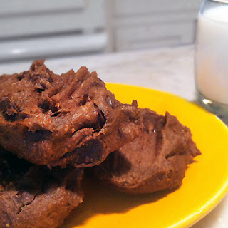Dark Chocolate Avocado Cookies.