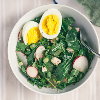 Green Salad Hard Boiled Eggs Recipes.