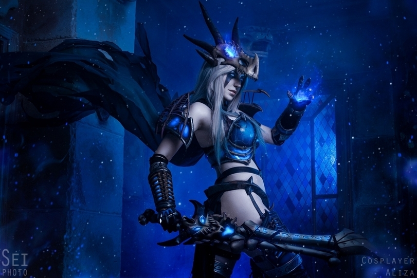 Правильный косплей по World of Warcraft — девушки, драконы и доспехи