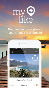 myLike – Your personal travel planner- screenshot thumbnail