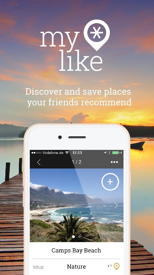 myLike – Your personal travel planner- screenshot