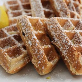 Blueberry Lemon Waffles Recipe