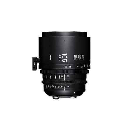 Sigma Cine 105mm T1.5 FF (Metric)