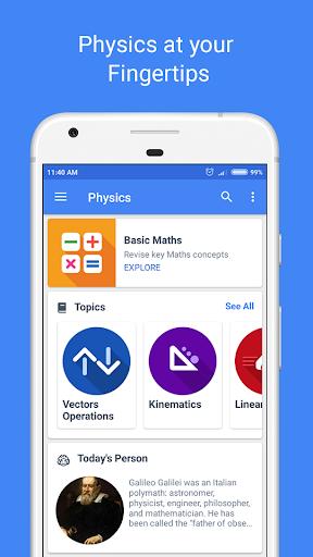 Physics Pro 2018 – Notes, Dictionary & Calculator v1.0.4 [Ad-free]