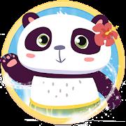 Panda style launcher theme &wallpaper icon