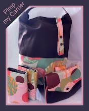 Photo: Custom *Zanzibar* accessories Carry my Carrier Tote Bag Mai Poketto Toy Tether & Strap Wraps