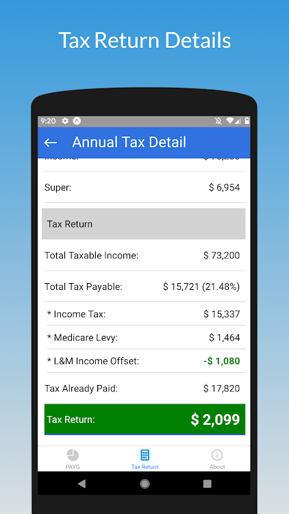 Tax Calculator 2019 ATO Rate – (Android Applications) — AppAgg
