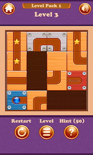 Slide Puzzle Maze – Unblock to Roll the Ball 1.0 APK Mod Latest Version 2
