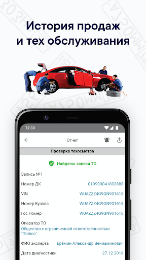 Autobot - checking cars by VIN and GRZ 12.00 screenshots 3