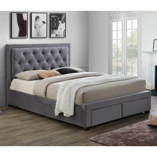 Birlea Woodbury Bed Frame Grey