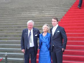 Photo: Fürst Franz Alexander, Fürstin Christine and  Prince Viktor of Isenburg