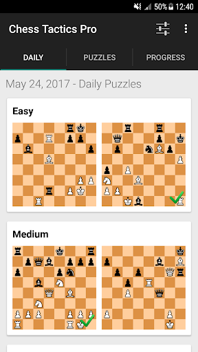 Chess Tactics Pro (Puzzles) 4.03 screenshots 2