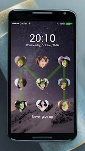 Lock screen photo screenshot 31