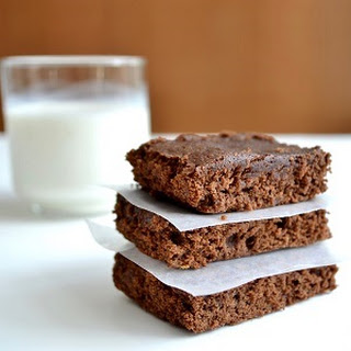 Healthy Brownies.