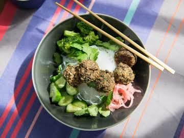 "Asian-Style Eggplant ""Meatballs"""