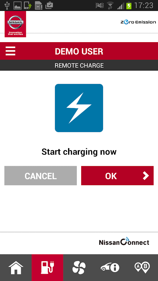 NissanConnect EV- screenshot