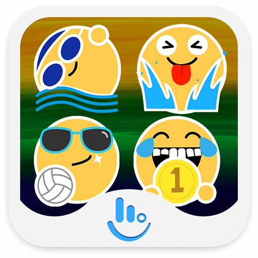 Rio Summer Sports Emoji Pack Icon