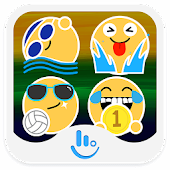 Rio Summer Sports Emoji Pack