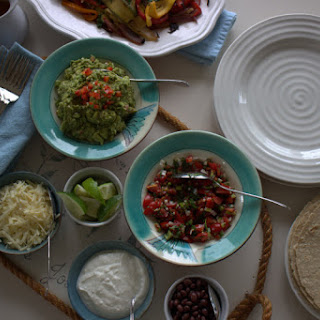 Grilled Vegetable Fajitas & Salsa Fresca