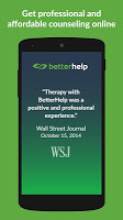 screenshot of BetterHelp: Online Counseling & Therapy