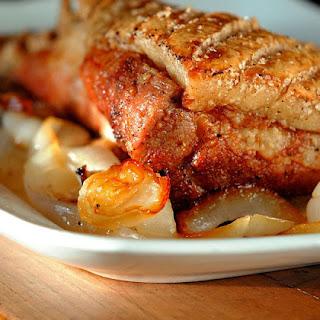 Jamie Oliver's Crispy Skin Pork Belly.
