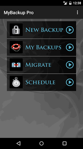 Screenshot for My Backup Pro in United States Play Store