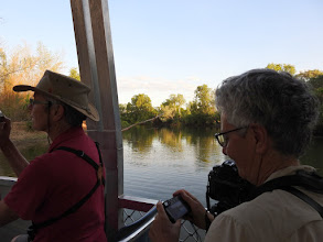 Photo: Lyn and Marg on the Yellow Water cruise