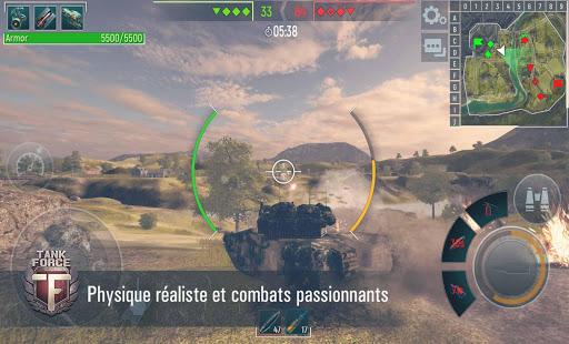 Tank Force: Chars 3D en ligne  captures d'écran 1