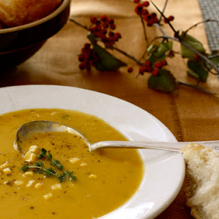 Buttercup Squash & Corn Bisque