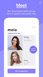 melo - The dating app to meet exclusive people - náhled