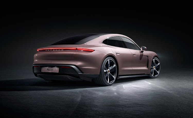 The new entry-level Porsche Taycan is rear-wheel drive only.