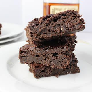 {Vegan} Cognac Brownies.