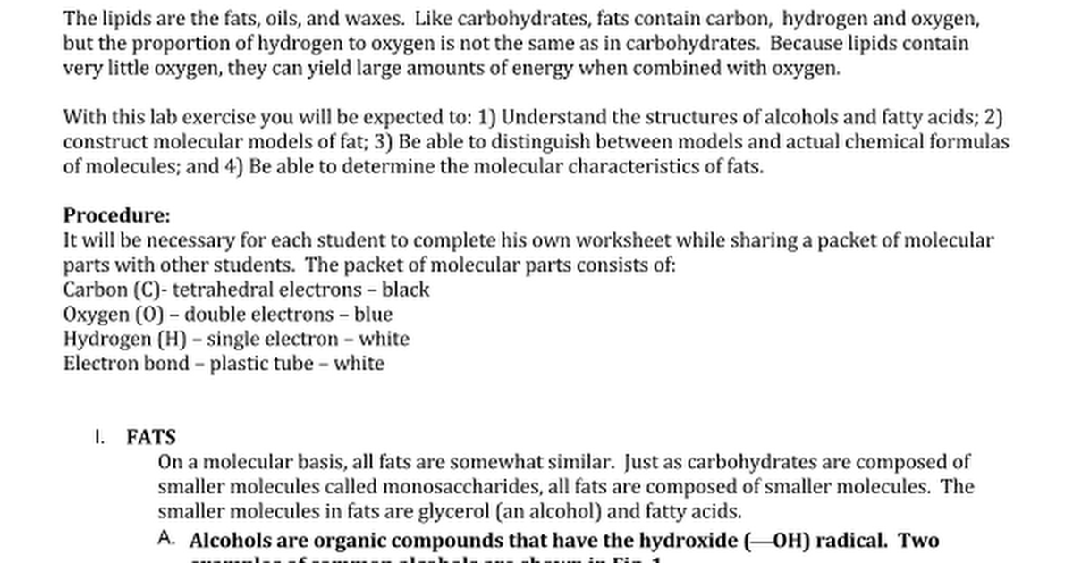 Model BuildingLipids2docx Google Docs – Lipids Worksheet