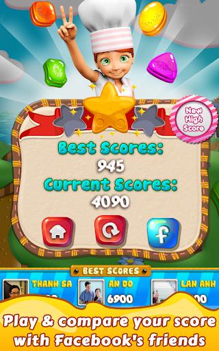 Cookie Star: Sugar cake puzzle match-3 game apktram screenshots 6