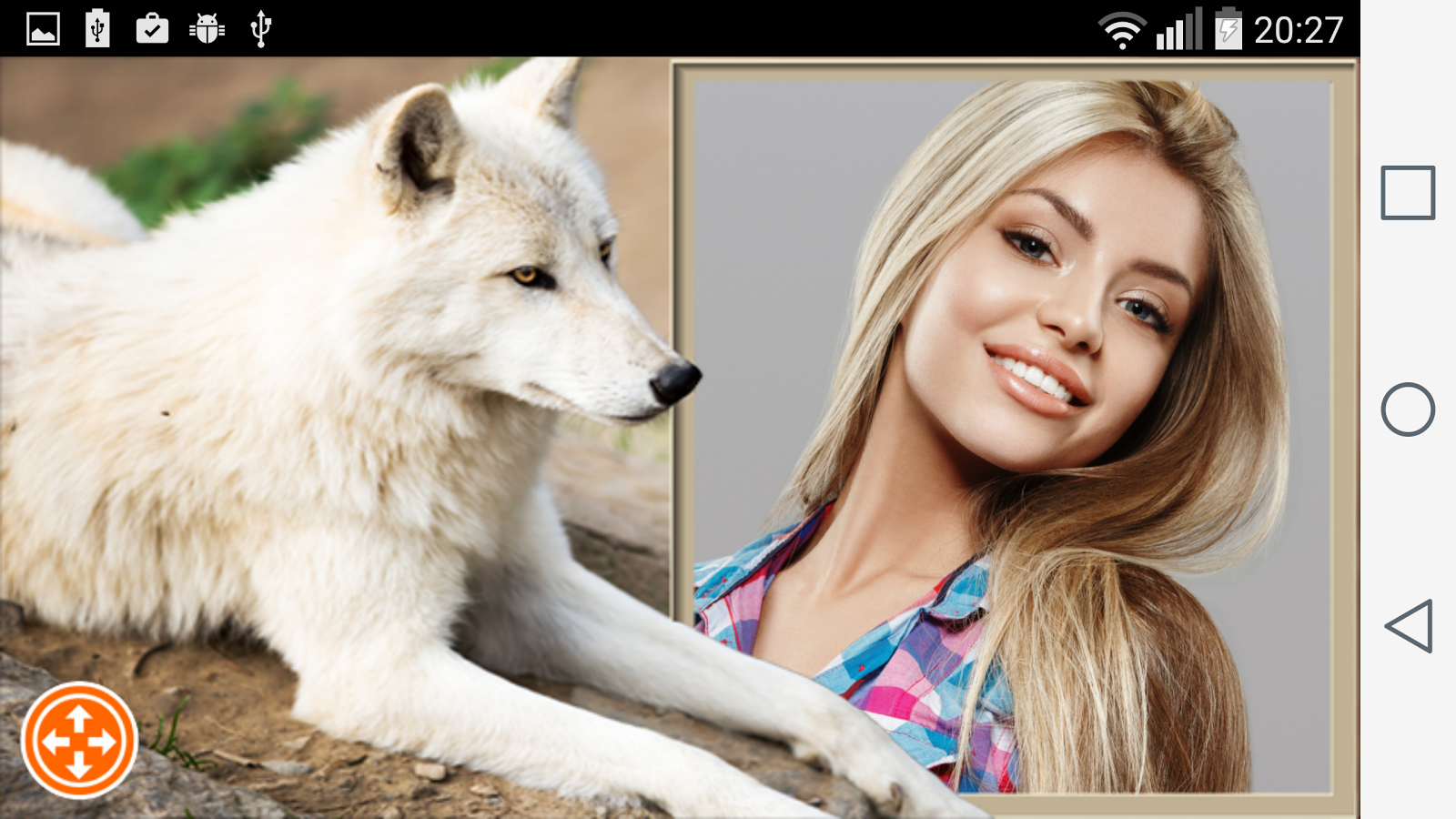 wolf photo frames screenshot - Wolf Picture Frames
