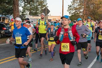 Photo: Start of 50 km run; Jemez Mountain Trail Runs
