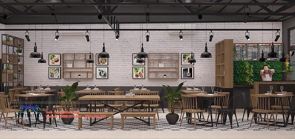 thiết kế nhà hàng bánh tráng 5