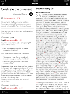 Explore Bible Devotional- screenshot thumbnail