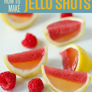 How to Make Raspberry Lemonade Jello Shots.