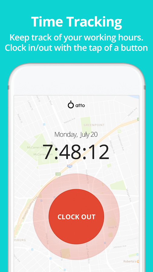 Atto - Employee Time and Location Tracking- screenshot