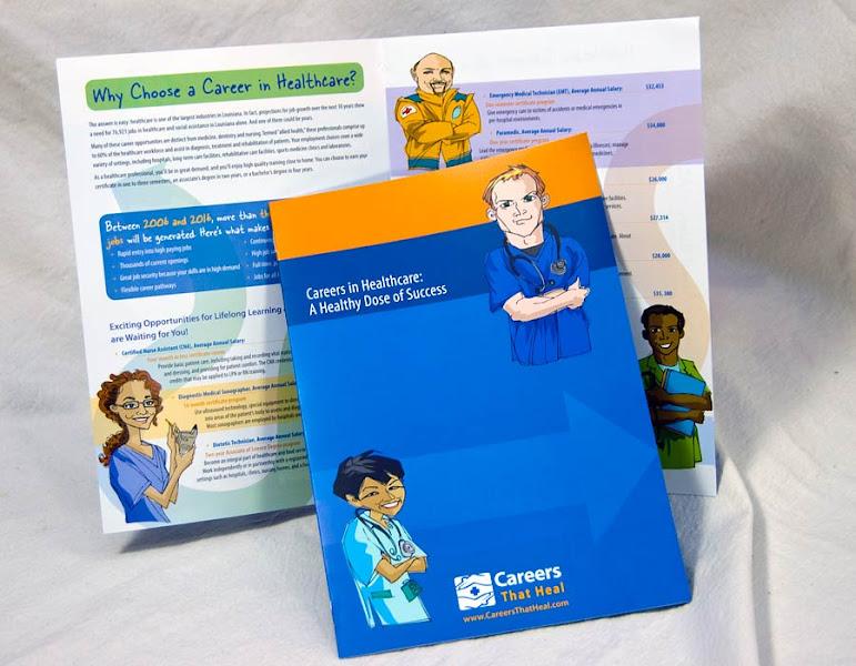 Photo: Careers That Heal Brochure