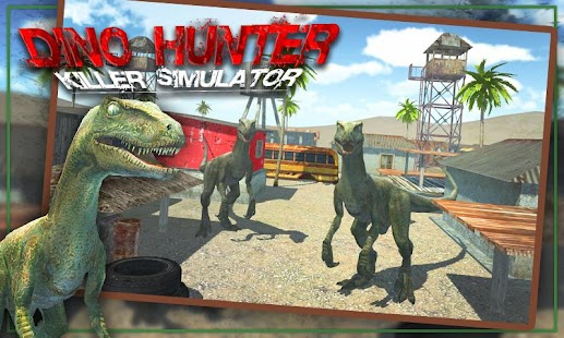 Dino Hunter Killer Simulator- screenshot thumbnail