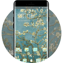 vincent willem van gogh branches with almond bloss APK