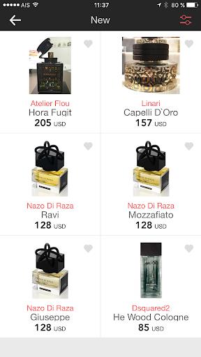 Perfumist Perfumes Advisor 3.0.3 screenshots 7